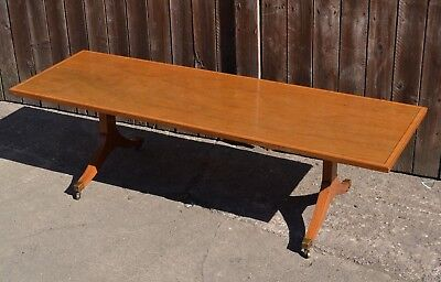 Antique Style Mahogany Inlaid Coffee Table Regency Style Brass feet Side Table