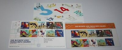 Royal Mail - London 2012 Olympics, Get Ready for 2012 - Presentation Pack & FDC