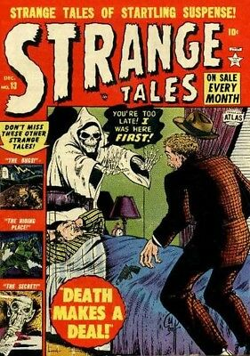 Marvel- Strange Tales Collection Of Silver/modern Age Comics On Dvd