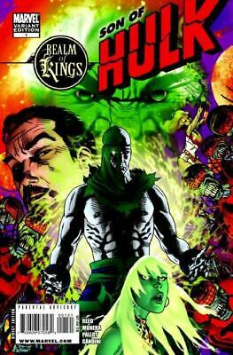 Realm of Kings Son of Hulk #1 1:20 Variant Cover by Michael Golden