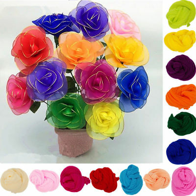 5PCS Multicolor Nylon Stocking For Artificial Flower Handmade Material Home DIY