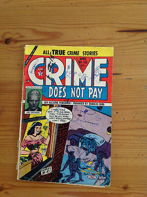 Crime Does Not Pay #133 George Tuska, Al Wenzel, Ralph Mayo LOW START