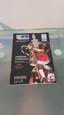 FA Cup Final Programme 2001 Arsenal v Liverpool FC