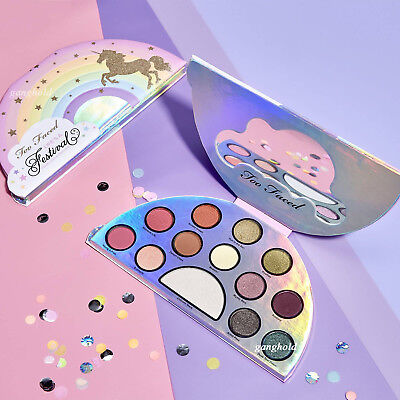 13 Colors Eyeshadow Palette Highlighter Shimmer Matte Unicorn Eye Makeup Kit AU