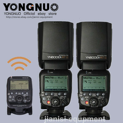 Yongnuo YN600EX-RT Flash speedlite + YNE3-RT Wireless Controller for Canon