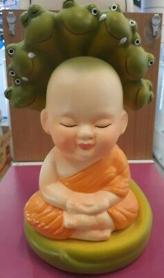 Piggy bank in Little Buddha Sheltered by Naga Hood (Limited) Free shipping
