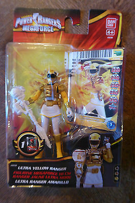 Figurine Power Rangers Megaforce - Ranger Jaune Ultra Mode