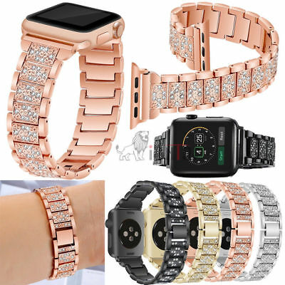 US Apple Watch Series 4 3 2 1 38/42MM Stainless Steel Bracelet iWatch Band Strap