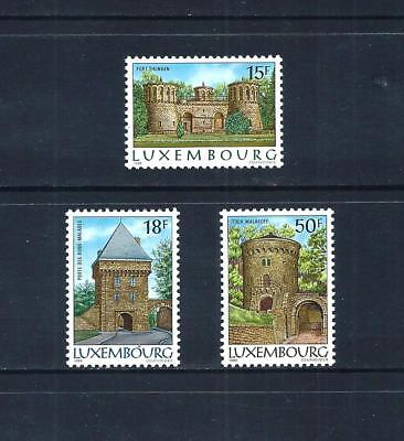 LUXEMBOURG _ 1986 'FORTS' SET of 3 _ mnh _____(544)