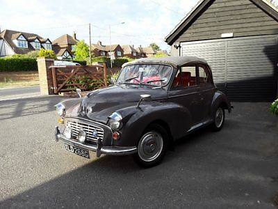 Morris minor genuine convertible