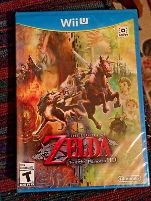 The Legend of Zelda: Twilight Princess HD (Wii U)  **New - See Description**