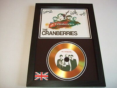The Cranberries    Signed  Gold Cd  Disc 1