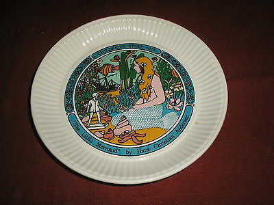 "Wedgwood ""The Little Mermaid"" Collector's Plate 1975"