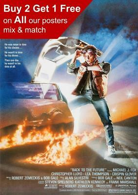 Back To The Future Movie Poster A5 A4 A3 A2 A1