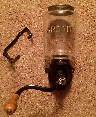 Antique Kitchen ARCADE 25 Atwood COFFEE GRINDER Wall Mount