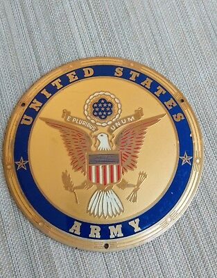United States Army Enamel Plaque