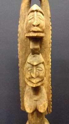 Old African woodcarving sculpture / statue//Art. 229