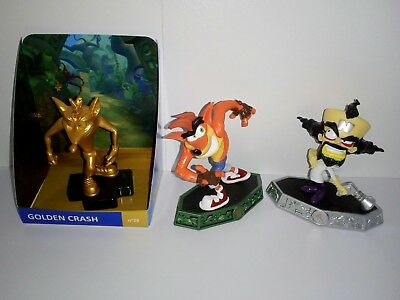 Skylanders Imaginators Crash Bandicoot Adventure Pack + Gold Totaku Bandicoot