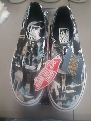 fe10147f7e11d0 Vans Star Wars Authentic Darkside Pinthth size men 4.5 women 6.0 new with  box