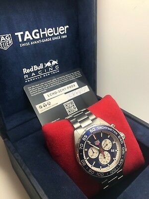 TAG Heuer Gents Formula 1 Red Bull Edition (CAZ1018) Complete Box and Papers