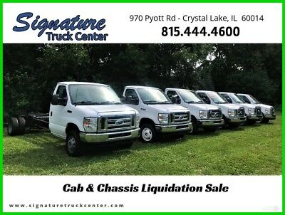 2013 Ford E-450 Cab and Chassis Fleet Maintained Stock#15776