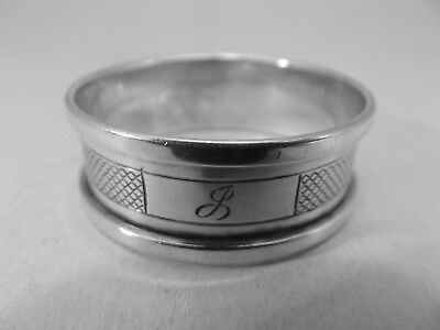 Good HM Silver Napkin Ring (424a) - Birmingham 1953 Henry Griffiths & Sons