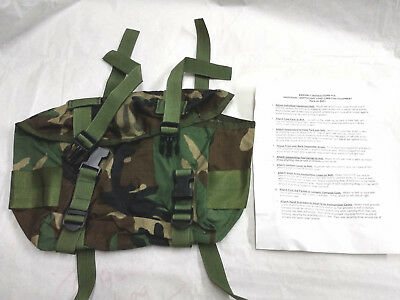 ALICE Field pack training waist butt pack  Woodland, GENUINE U.S. MILITARY ISSUE