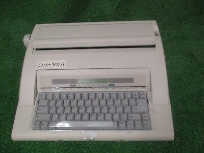 Electronic Typewriter | Leader MD II