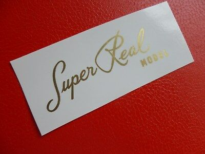Greco Super Real Les Paul tyle decal. Metallic gold ... waterslide