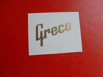 Greco Les Paul 3 a side decal. Metallic gold ... waterslide