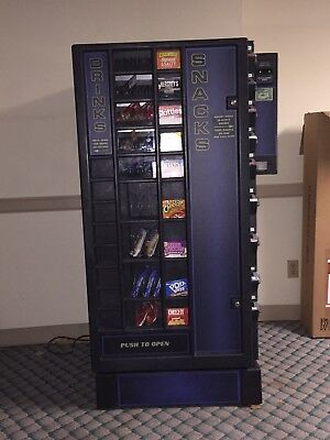 Antares combo snack and soda vending machine with dollar changer