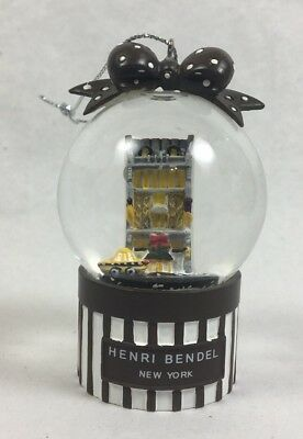 FLAGSHIP Store HENRI BENDEL MINI Snow Globe New York Ornament - 1 globe