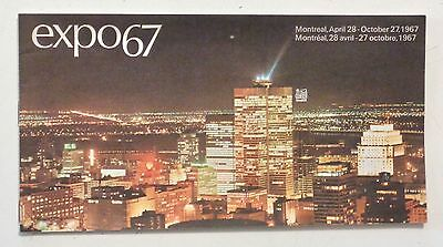 EXPO 67 MONTREAL Royal Bank Brochure Guide Maps 1967 World's Fair CANADA