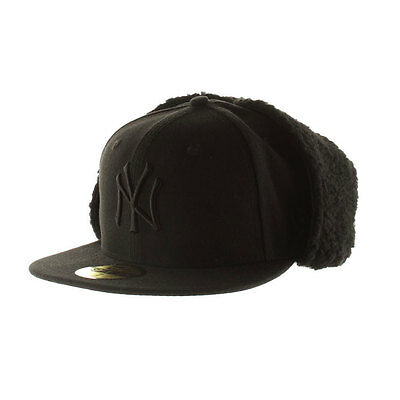 New York Yankees Licenced MLB 59FIFTY Dog Ear Fitted Cap