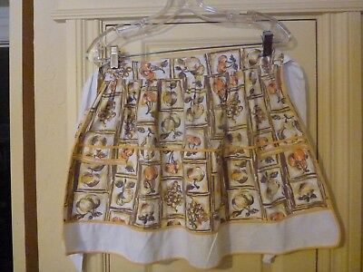 Vintage Kitchen Print Apron