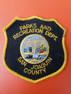 old  rare San Joaquin county  California parks and recreation patch