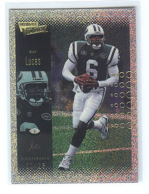 RAY LUCAS, Jets 00 Ultimate Victory PARALLEL 25 # 01/25