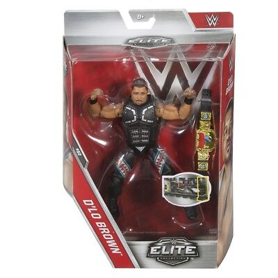 WWE - Elite Collection Figur, D`Lo Brown