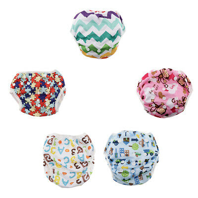 Reusable Swim Nappy Baby Cover Diaper Pants Swimmers Newborn to Toddlers