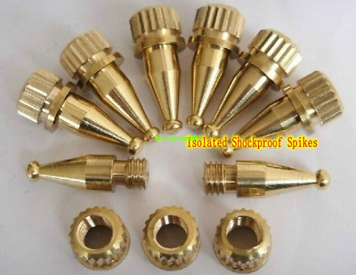 Audio speaker Spikes Pure copper Foot nail Isolated Stand shockproof Spikes