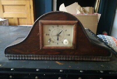 Vintage Smiths Sectric Alarm Clock A Marriage With Mantel Clock