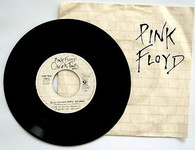 "Pink Floyd - Another Brick In The Wall / One Of My Turns HARVEST 7"" Single"