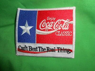 Coca-Cola Uniform Patch Can't Beat the Real Thing Coca-Cola Classic