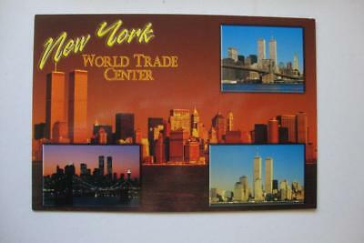 307) New York City ~ Four Views Of The World Trade Center Twin Towers 1973-2001