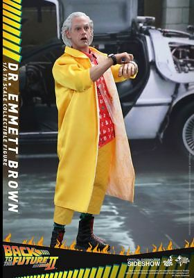 Sideshow Hot Toys Back To The Future Ii Dr. Emmett Brown 1:6 Figur Bttf Mms380