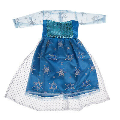 Pretty Blue Dress Outfit Clothes For 18 Inch American Girl My Life Doll #3