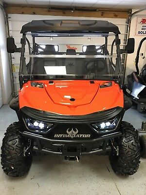 2018 intimidator utv 800cc with xd4 package. !!!!!!   NO RESERVE  !!!!!!!!