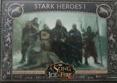 A Song of Ice and Fire CMON Kickstarter Exclusive All 3 Hero Packs