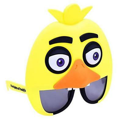 Sun-Staches Five Nights At Freddy's Chica Bird Character Shades Sunglasses