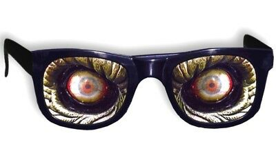 Zombie Monster Glasses Halloween Costume Prop Accessory Scary Eyes Effects New